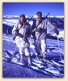 "Soldiers of the 10th Mountain Division who fought in World War II and trained in Colorado are the subject of Warren Miller Entertainments recent documentary ""Climb to Glory."""